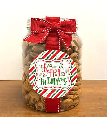 Happy Holidays! Chocolate Chip Cookie Jar